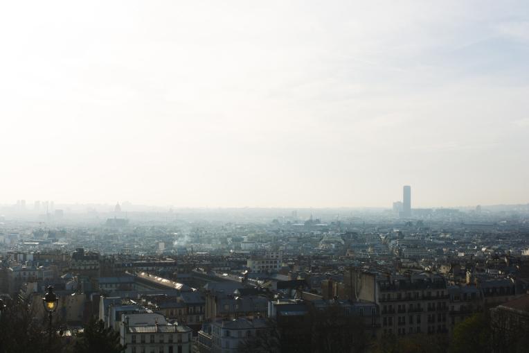 Paris Montmartre view