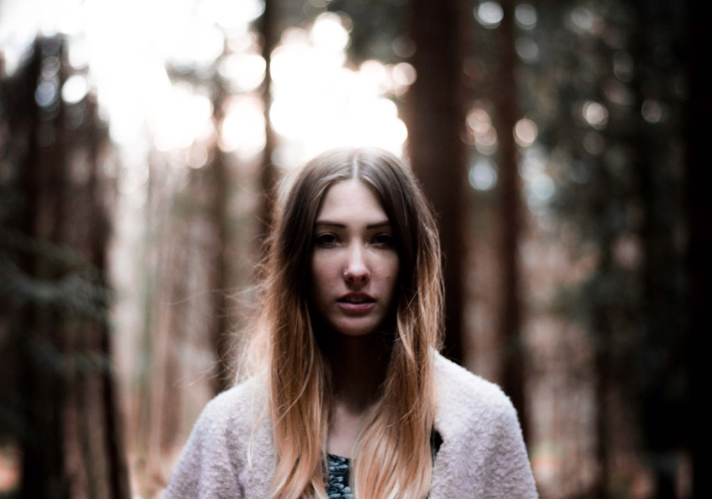Model Wald Fotografie Spaziergang